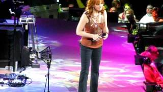 Reba: Somebody Should Leave/For My Broken Heart medley. Greensboro, NC