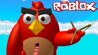 Roblox: ESCAPE DO ANGRY BIRDS !! - (Angry Birds Obby)