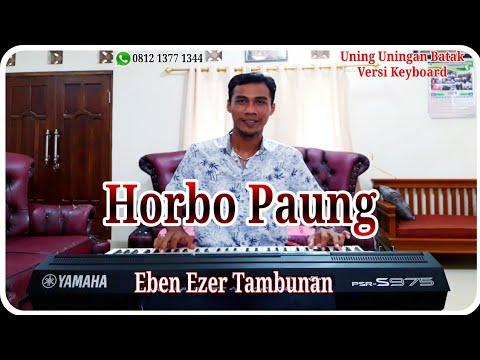 HORBO PAUNG - Uning Uningan Tortor Batak Versi Keyboard Yamaha PSR S 975 | Eben Ezer Tambunan