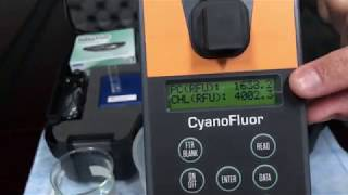 CyanoFluor: How to measure PC to CHL ratios in DOM rich water