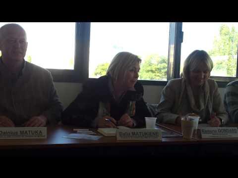 120927  Accueil Delegation Lituanie Par La CGPME Des Pays De La Loire