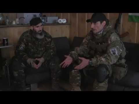'Грузин' - 'Доберман' оправдывается перед чеченцами/воюющих на стороне укропов/ 5.04.2015