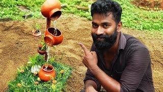 How To Make A Garden Waterfalls | ഇനി പൂന്തോട്ടത്തിലും വെള്ളച്ചാട്ടം | M4 TECH |