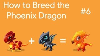 Phoenix dragon of the week dragon mania legends breeding guide 12 19th dec
