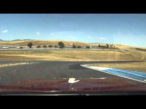 Turn by turn drive of Thunderhill