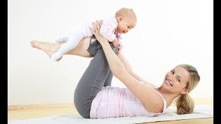 Упражнения в первые дни после родов