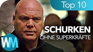 Top 10 COMIC-Schurken ohne SUPERKRÄFTE ✓