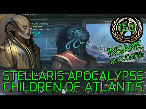 Staking the Claims! - Stellaris Apocalypse Roleplay CHILDREN OF ATLANTIS Highest Difficulty #160 |