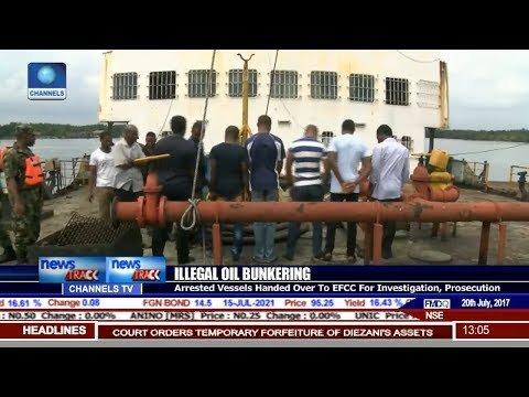 Navy Arrests Vessels With Suspected Stolen Petroleum Products