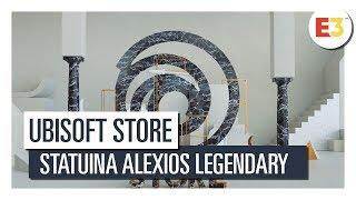 ESCLUSIVA UBISOFT STORE  -  STATUINA ALEXIOS LEGENDARY