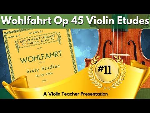 Easy Violin Etudes | Wohlfahrt Op 45, #11 Tutorial | E Flat Major