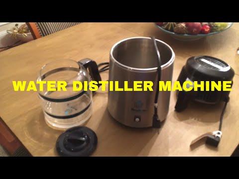 Water Distiller Machine Review - Megahome Heavy Duty Distiller