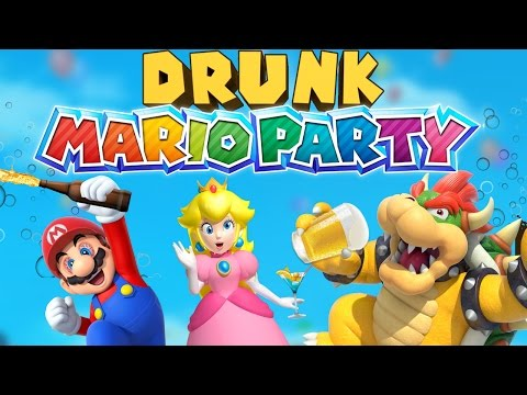 DRUNK MARIO PARTY – Mario Party 10 Gameplay