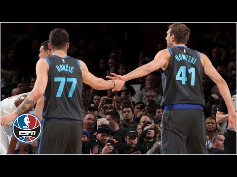 Luka Doncic shines in MSG debut, Dirk gets standing ovation in Mavs' win vs. Knicks | NBA Highlights Mp3