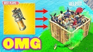FUNNIEST STINK BOMB TRAP TROLL EVER! Fortnite Battle Royale Fortnite Epic  Funny Moments