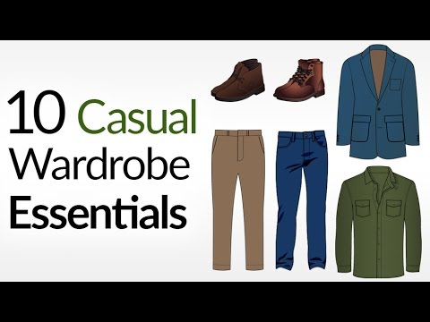 10 Casual Wardrobe ESSENTIALS (For COLD Weather)   How To Dress Casually For Winter