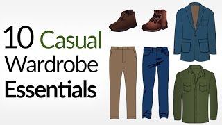 10 Casual Wardrobe ESSENTIALS (For COLD Weather) | How To Dress Casually For Winter