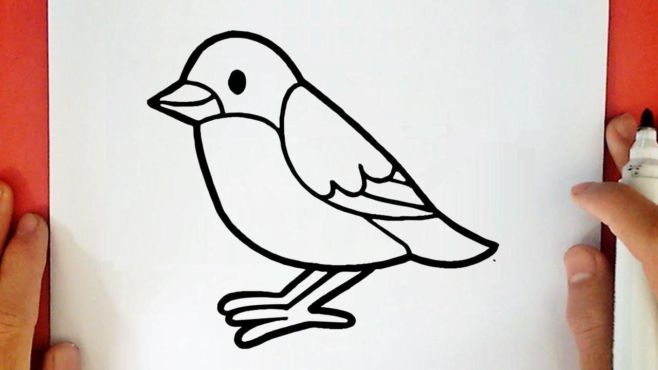Come Disegnare Un Uccellino