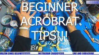 UMMAGAWD ACROBRAT BEGINNER TIPS!!