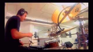 Monkey To The Moon - Turn a Blind Eye (Drum cam studio)