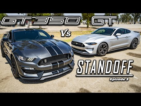 Ford Mustang GT PP Vs. Shelby GT | Track Tested!