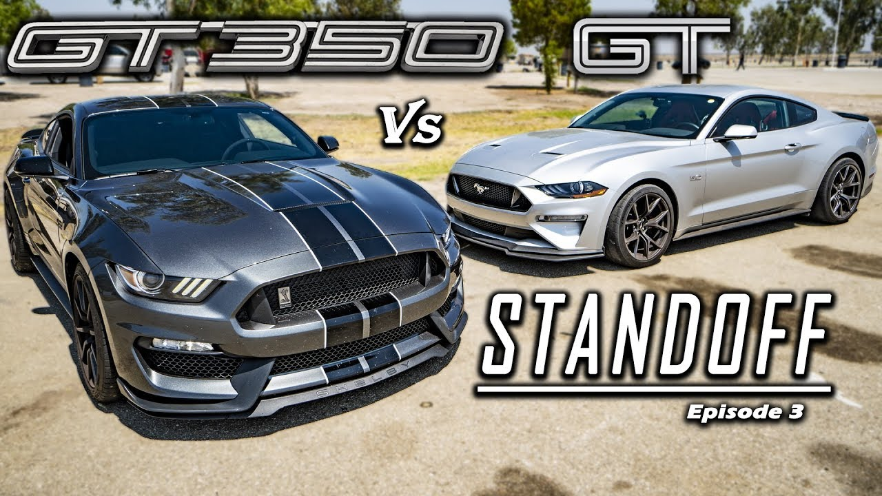 Ford mustang gt pp2 vs shelby gt350 track tested