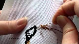 Исправление ошибки в вышивке крестиком