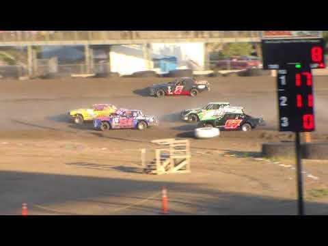 Nodak Speedway IMCA Stock Car Heats (Motor Magic Night #2) (9/3/17)