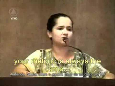Amanda Gurgel - Voice of Teachers in Brazil