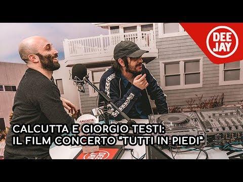 """Calcutta e Giorgio Testi presentano il film """"Tutti in Piedi"""" a Tropical Pizza"""