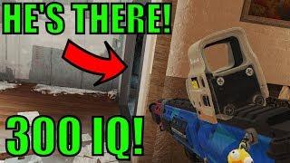 300 IQ PLAY! - AMAZING Gamesense - Rainbow Six Siege Gameplay