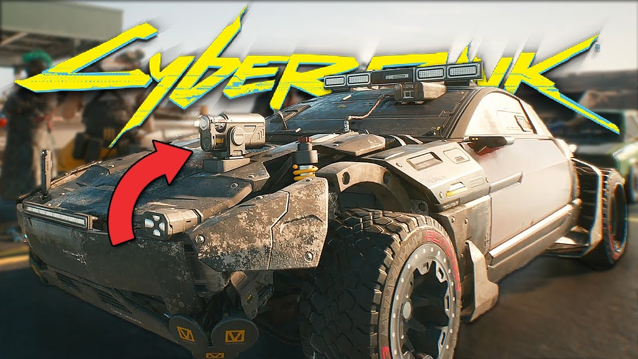 Cyberpunk 2077 - Frame by Frame Breakdown | Unique Gang Attacks & Vehicles, Combat Taxis, & More thumbnail