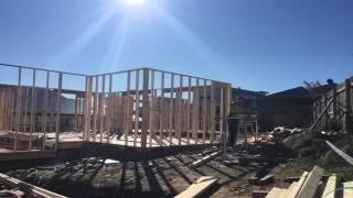 raize the roof Charity House frames