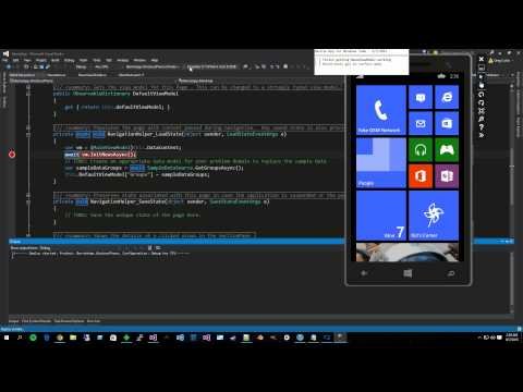 Coders For Sanders - Windows app development (Finishing NewsViewModel)