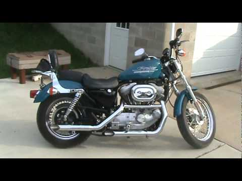 2001 harley davidson sportster 883 cycle shack exhaust youtube. Black Bedroom Furniture Sets. Home Design Ideas
