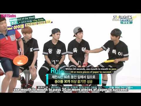 [ENG SUB] [HD] 140820 - Weekly Idol (Big Byung)