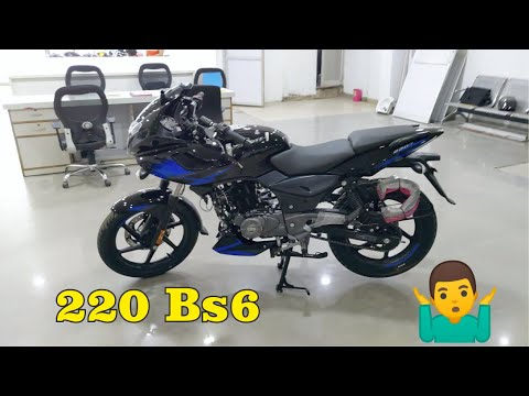 Download New Bajaj Pulsar 220F BS6 Price Mileage All Features Full Walkaround Review In Hindi