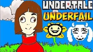 Undertale - Underfail | Что-то пошло не так :D