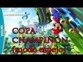 Mario Kart 8 - DLC Mercedes Benz: COPA CHAMPIÑÓN 150cc - MODO ESPEJO - Wiiu 1080p