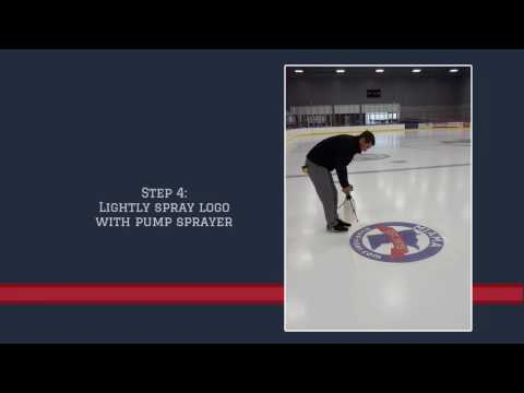 How To Install Vinyl Logos On Ice
