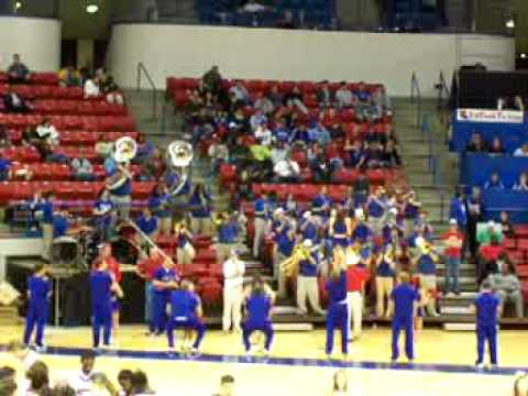 Louisiana Tech Hoop Troop playing I Can