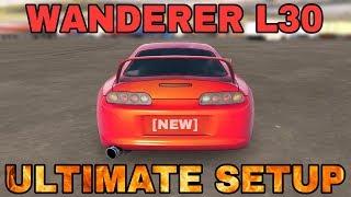 Wanderer L30 Ultimate Setup + Test Drive! (Toyota Supra)   CarX Drift Racing