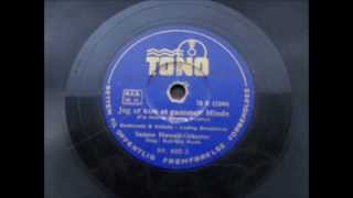 Jeg er kun et gammelt Minde. Gull Maj Norin med Samoa Hawaii Orkester. Copenhagen 1942.