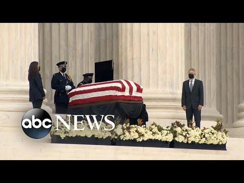 Honoring Ruth Bader Ginsburg, 1st woman to lie in state l GMA