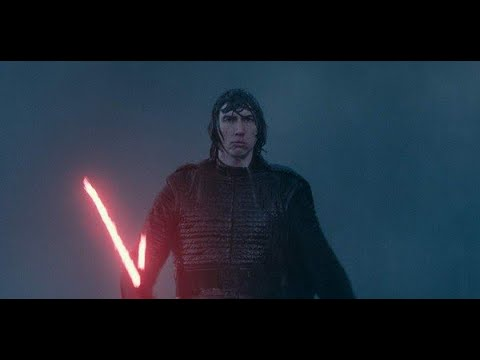 Kylo Ren being a man-child for 1 minute and 20 seconds