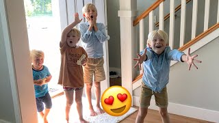 7 Kids React To AMAZING NEW HOUSE!