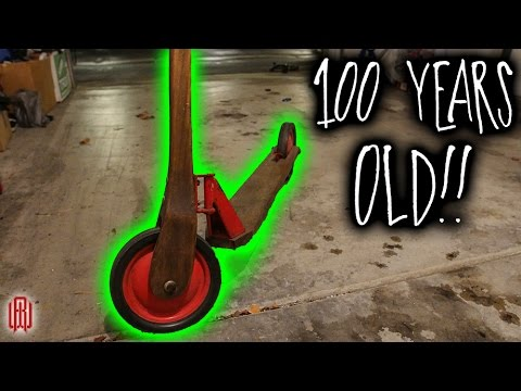 100 YEAR OLD SCOOTER!!