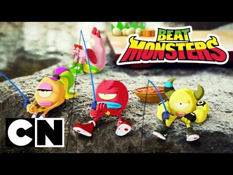 Beat Monsters | Fishing | Cartoon Network