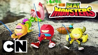Beat Monsters | Fishing | Cartoon Network