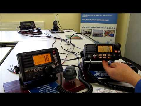 Individual call using Marine VHF DSC radios